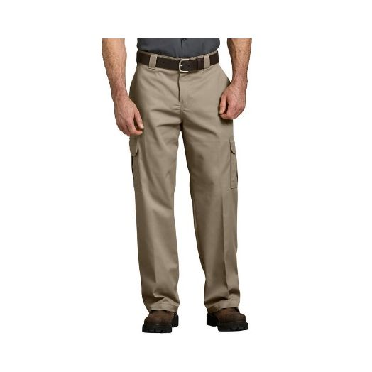 Dickies FLEX Relaxed Fit Straight Leg Cargo Pant in Desert Sand