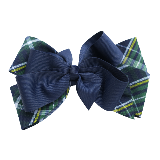 Plaid #1B 3-in-1 Bow (Build-A-Bow)