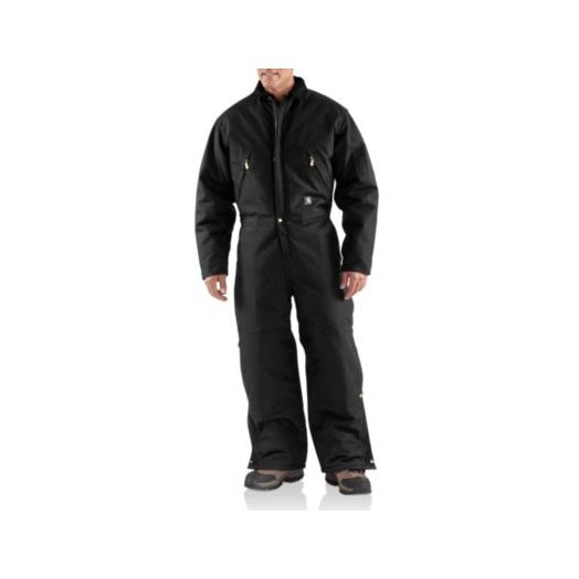 X06 Carhartt Extremes Arctic Quilt Lined Coverall in Black